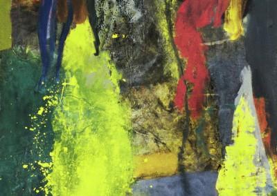 Garden, oil on canvas, 1994, 135 x 110cm