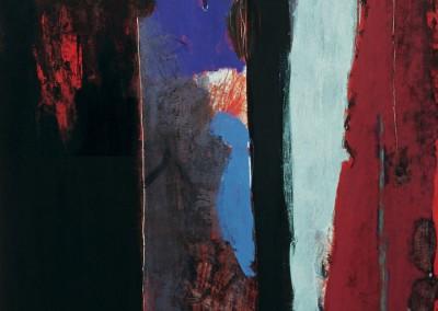 Glimpse, oil on canvas, 1993, 210 x 180cm