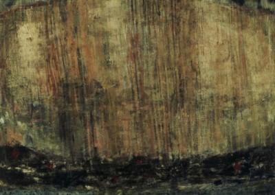 Rain, oil on canvas, 1989, 165 x 165cm