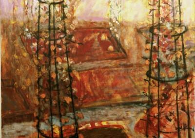 Sigh For Sigh, oil on canvas, 1988, 155 x 155cm