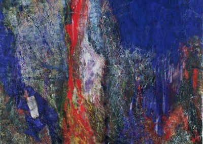 Stay Blue, oil on canvas, 1990, 170 x 190cm