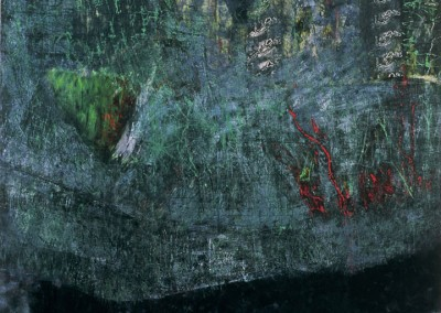 The River Lies, oil on canvas, 1993, 170 x 190cm