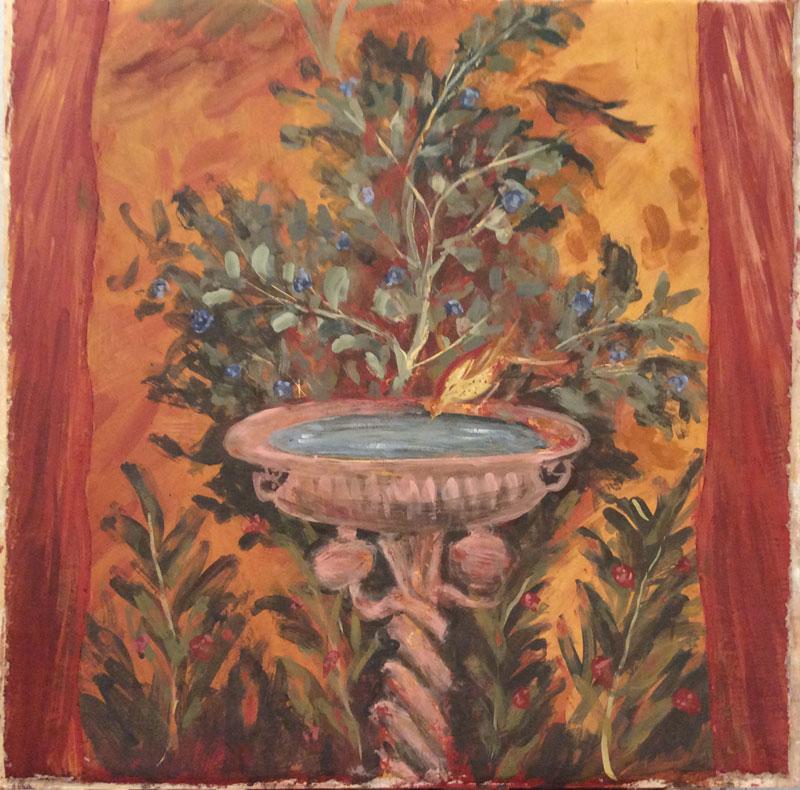 Olivia Irvine, Frescoes