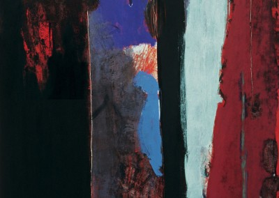 Olivia Irvine, Glimpse, oil on canvas, 1993, 210 x 180cm