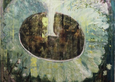 Grown-up Garden, oil on canvas, 1990, 180 x180cm