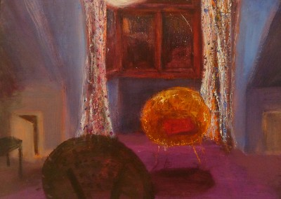 Peter Never Lived Here, oil and egg tempera on canvas, 2011, 26 X 33cm