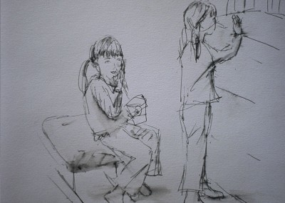 Olivia Irvine, Susannah twice, Drawing