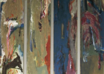 Olivia Irvine, Talking in Tongues, oil on canvas, 1993, 200 x 120cm