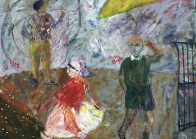 Temperamental Weather, oil on canvas, 1987, 170 x 170cm