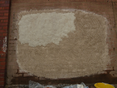 Wall fresco part one