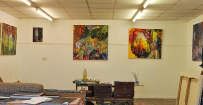 Moving artist's studio