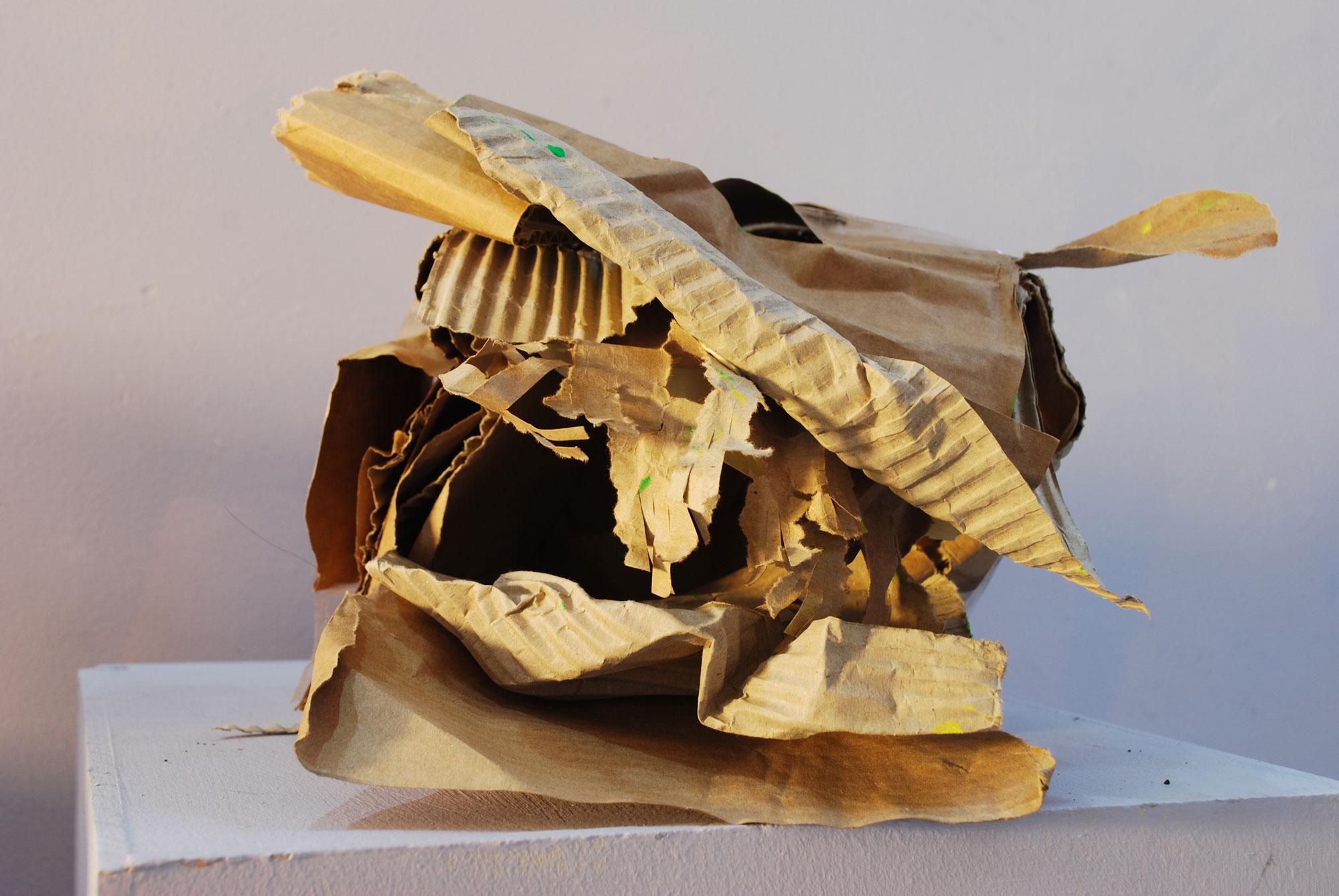 Olivia Irvine, Cave Sculpture