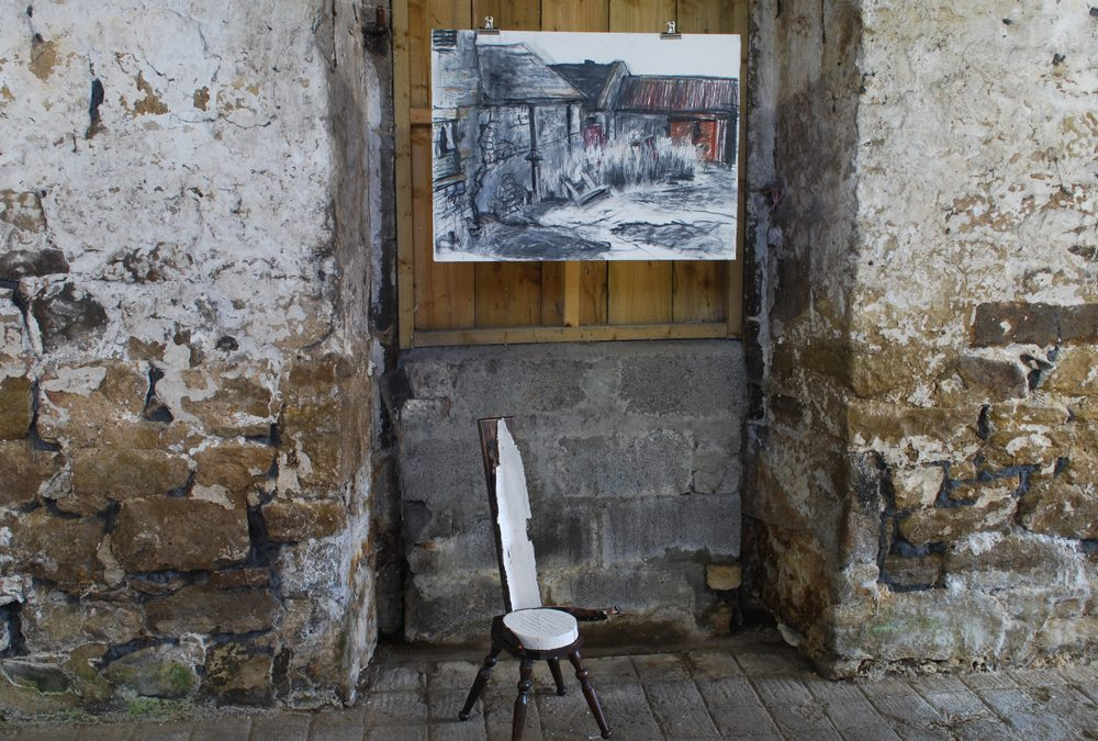 Byre – an exhibition in a barn